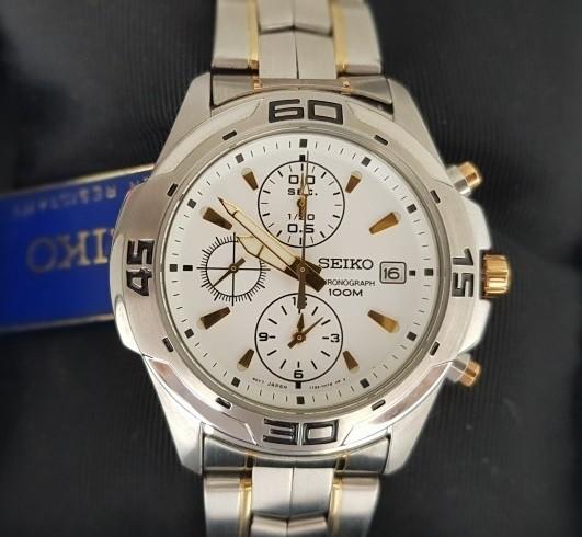Relógio Seiko Masculino Cronógrafo Quartz 7T92AR/5