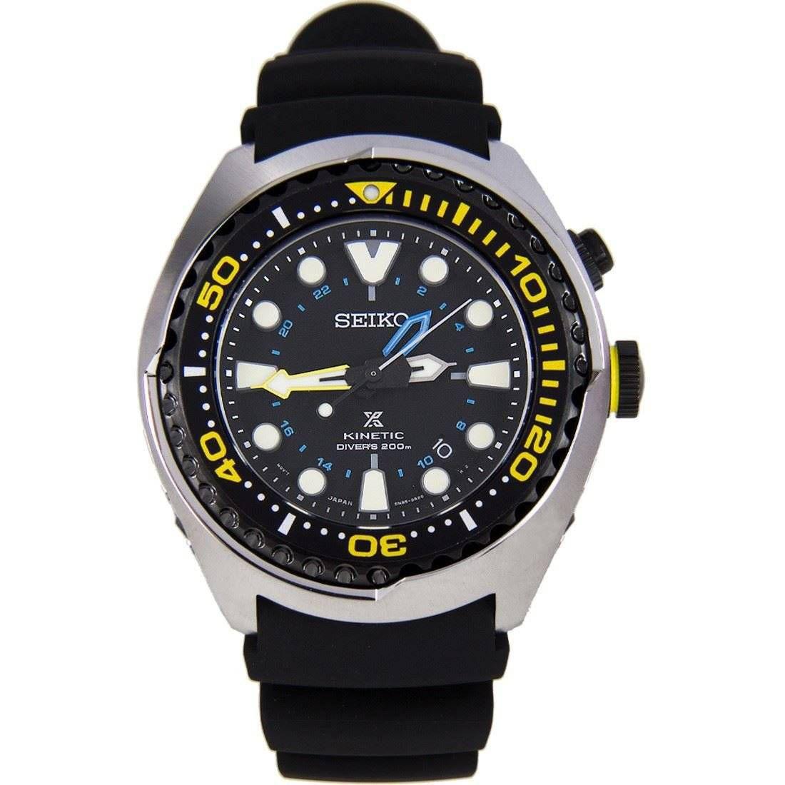 Relógio Seiko Masculino Kinetic Quartz SUN021P1 P1PX