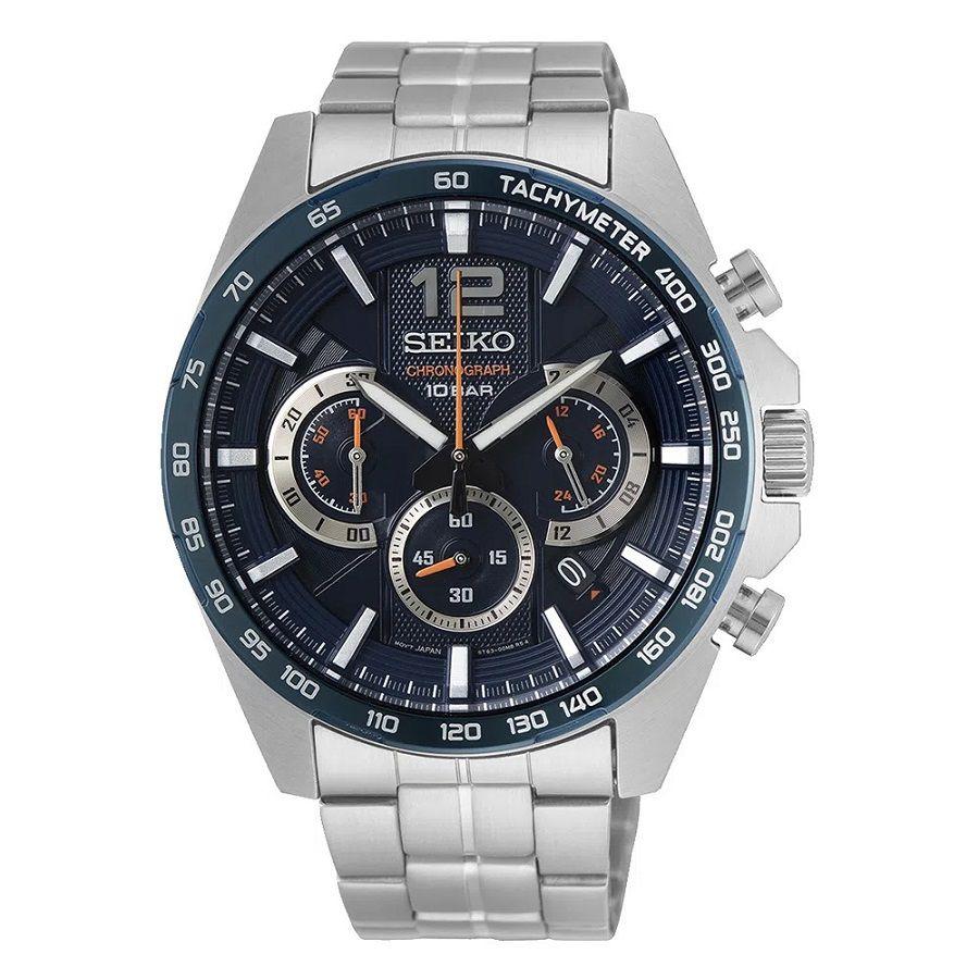 Relógio Seiko QTZ Aço SSB345B1 D2SX