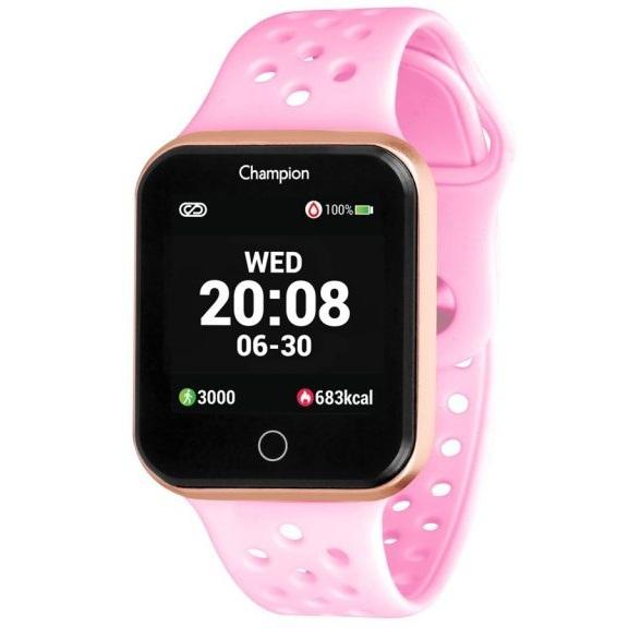 Relógio Smartwatch Champion Bluetooth 4.0 Rosa CH50006R