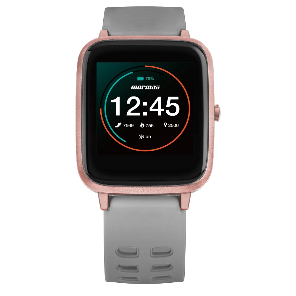 Relógio Smartwatch Mormaii Life MOLIFEAC/8K