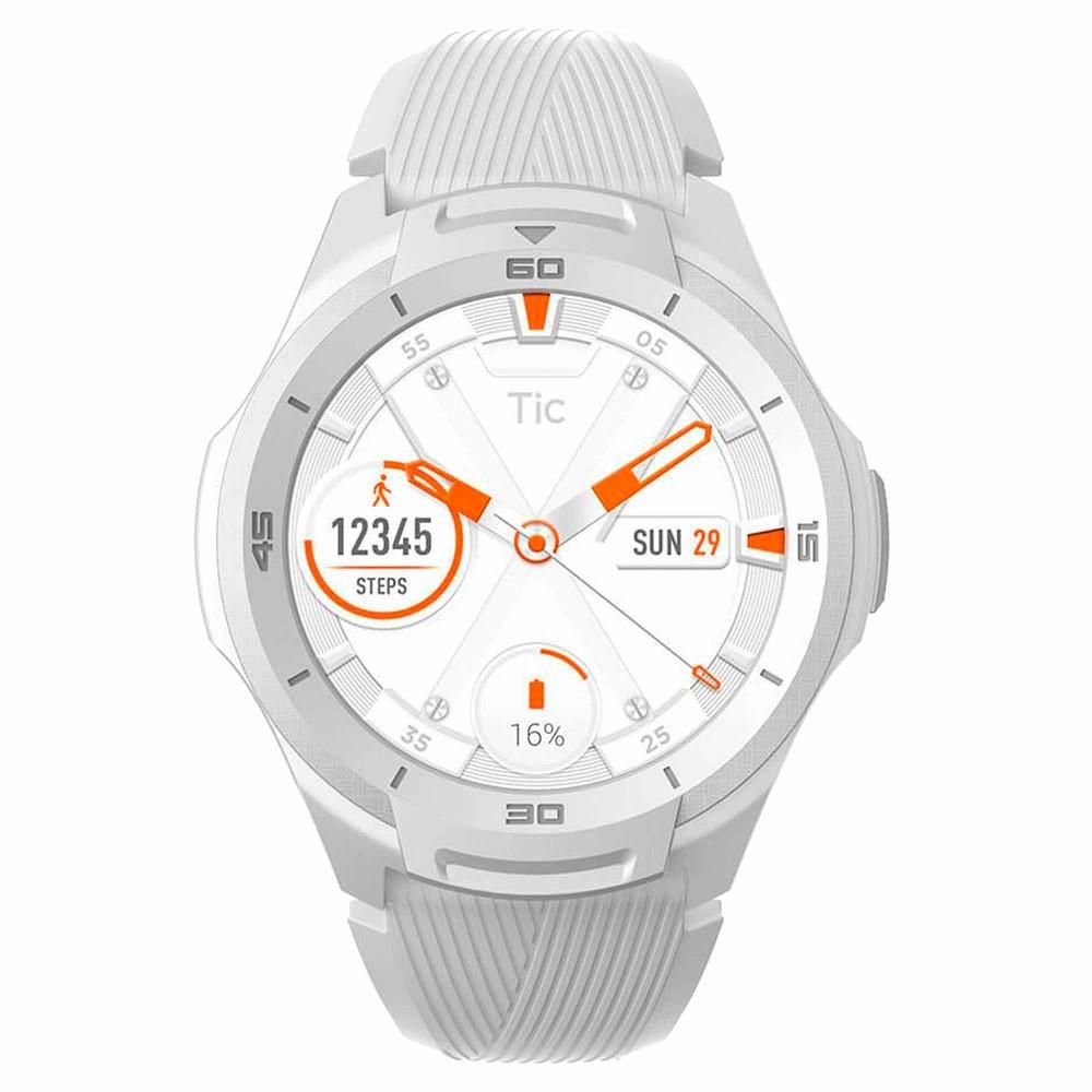 Relógio Smartwatch TicWatch S2 Branco GPS Wear OS by Google