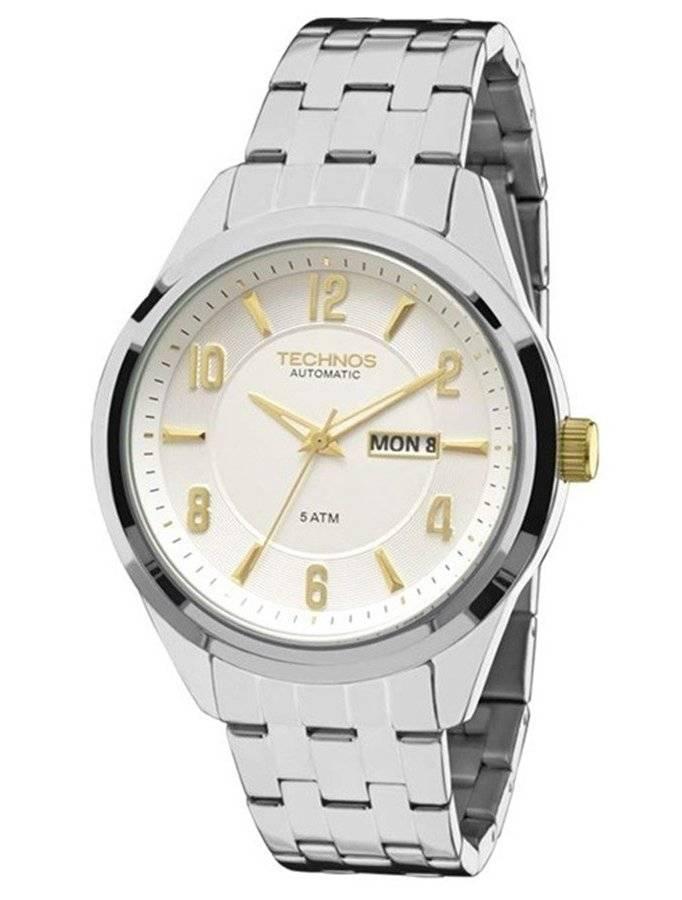 Relógio Technos Classic Automático Masculino 8205NJ/3K