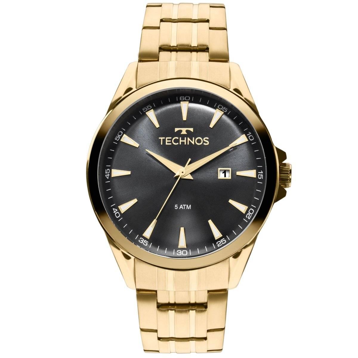 Relógio Technos Classic Executive Masculino Quartz 2115LAR/4P