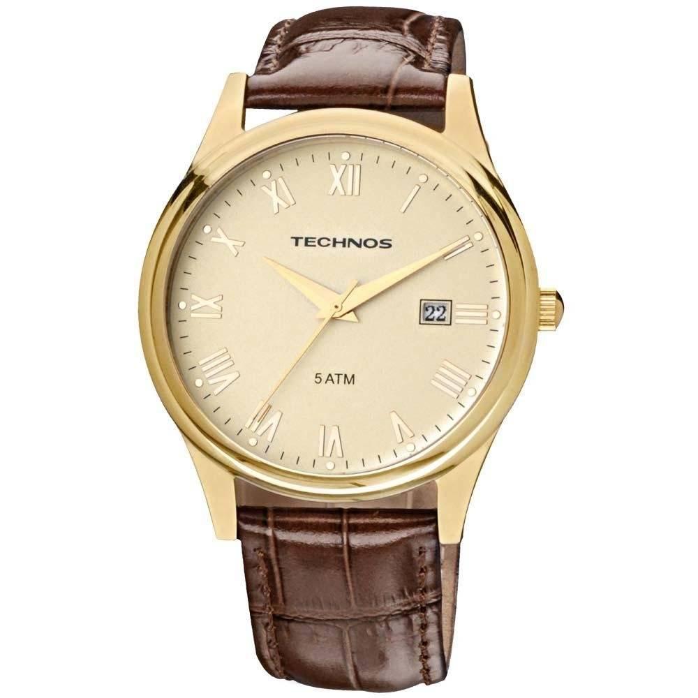 Relógio Technos Classic Executive Quartz 2115GL/2X