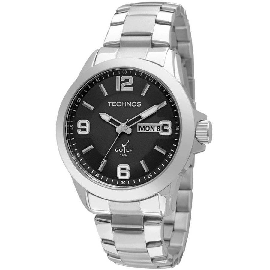 Relógio Technos Classic Golf Masculino Quartz 2305AN/1P