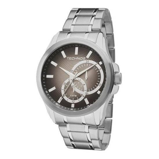 Relógio Technos Classic Grandtech Quartz 6P22AD/1P
