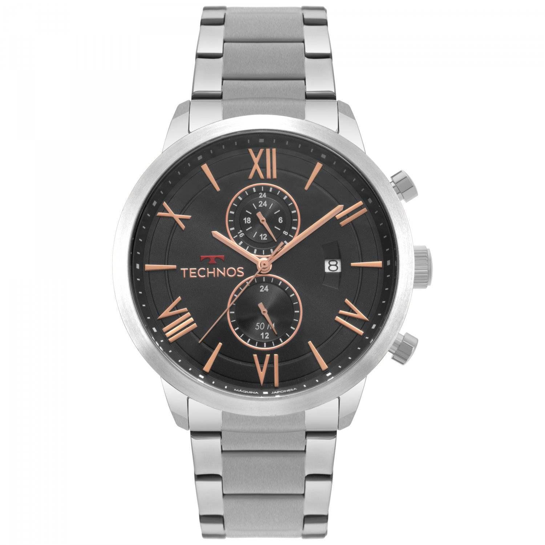 Relógio Technos Classic Grandtech Quartz JP11AB/1P