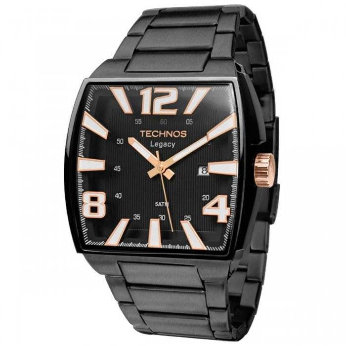 Relógio Technos Classic Legacy Masculino Quartz 2315ABF/1P