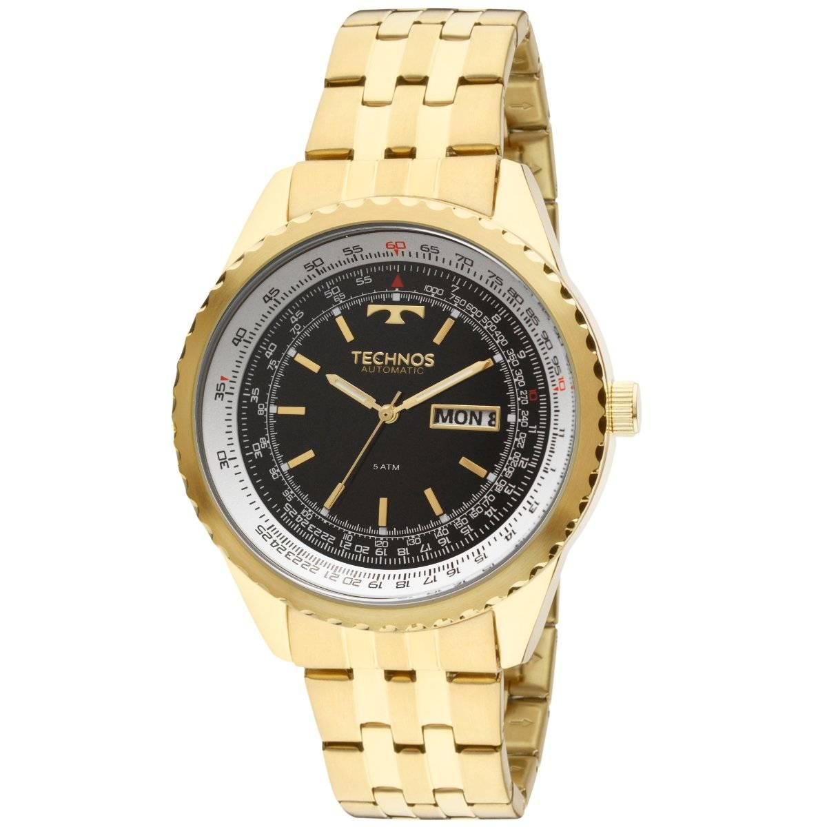 Relógio Technos Classic Masculino Automático 8205NN/4P
