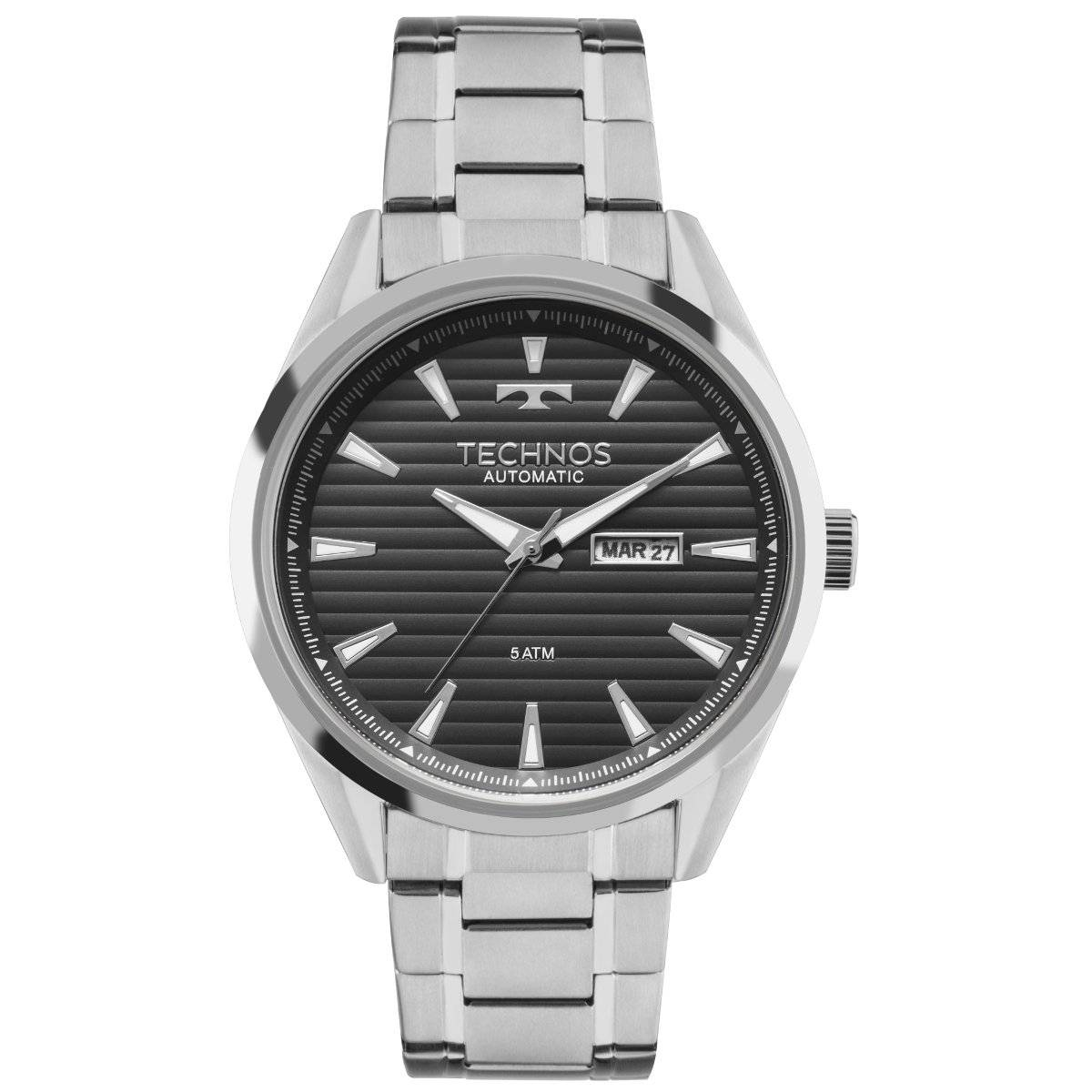 Relógio Technos Classic Masculino Automático 8205NW/0P