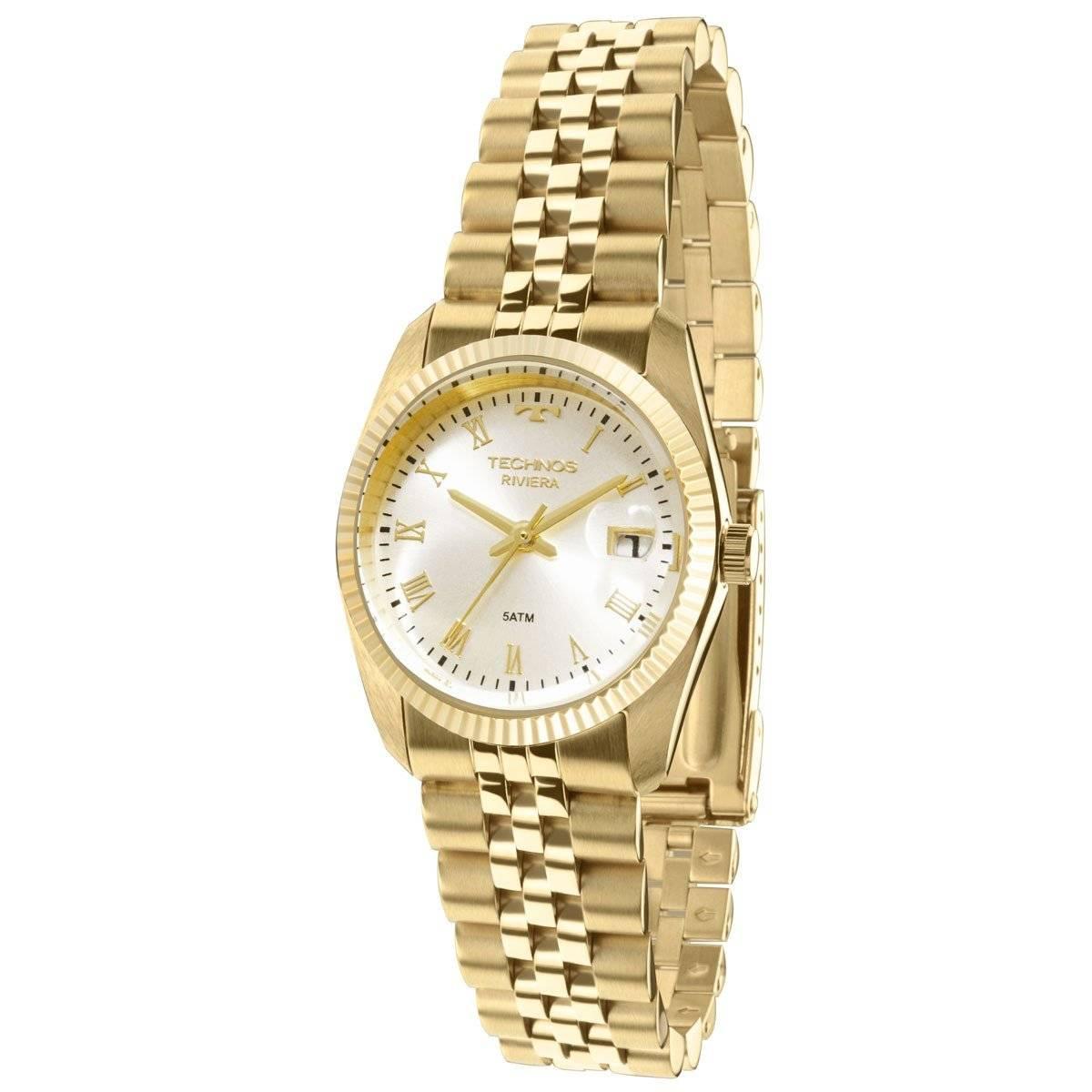 Relógio Technos Classic Riviera Feminino Quartz GL10HY/4X