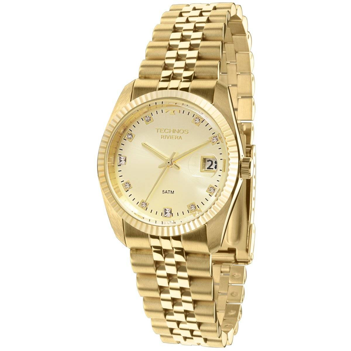 Relógio Technos Classic Riviera Feminino Quartz GM10YB/4X