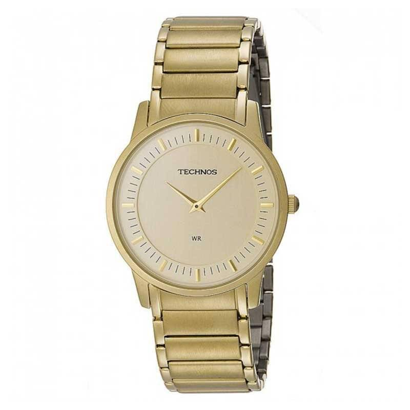 Relógio Technos Classic Slim Quartz GL20AQ/4X