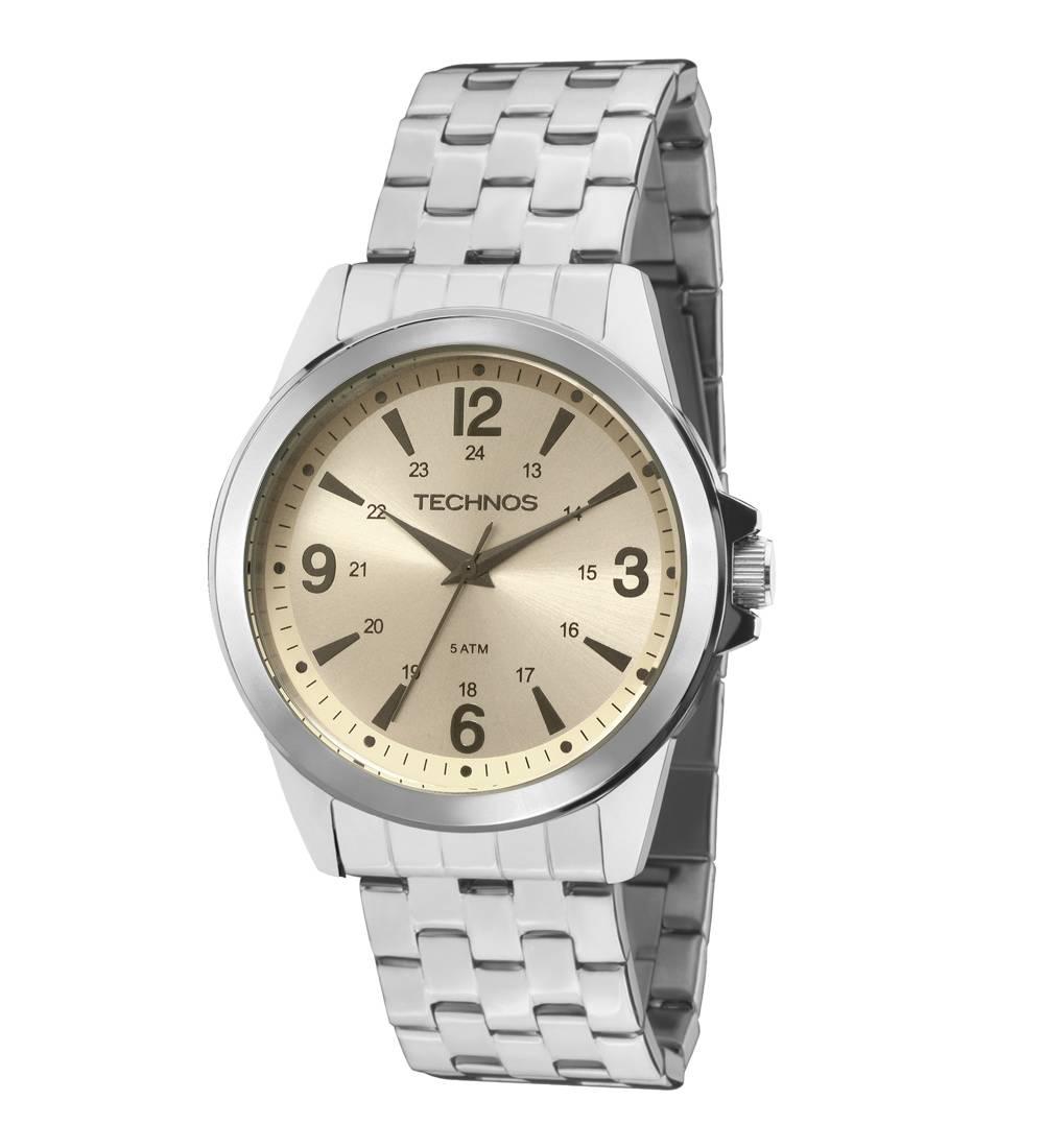 Relógio Technos Classic Steel Quartz 2035MDJ/0X