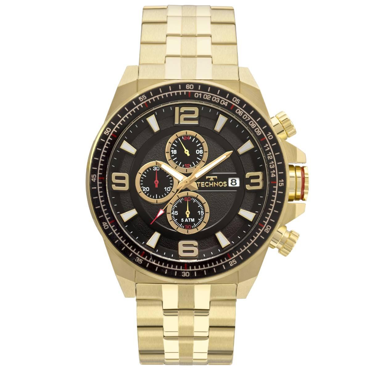 Relógio Technos Desafiantes Skymaster Quartz JS15FC/4P