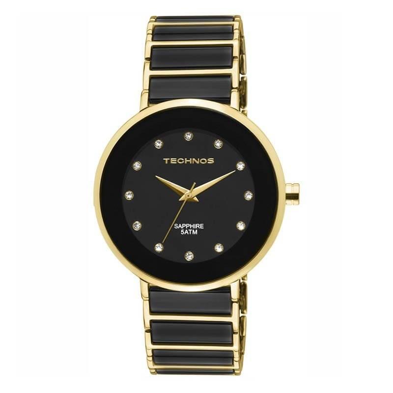 Relógio Technos Elegance Ceramic Feminino Quartz 2035LMM/4P