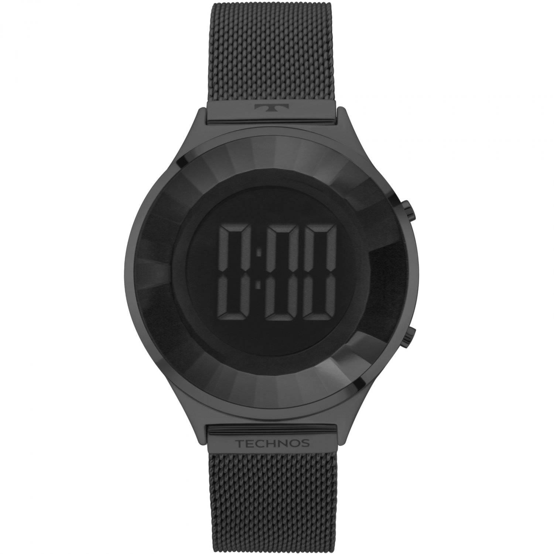 Relógio Technos Elegance Crystal Feminino Digital BJ3572AB/4P
