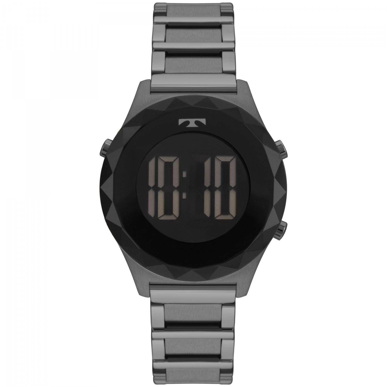 Relógio Technos Elegance Crystal Feminino Digital BJ3851AA/4P