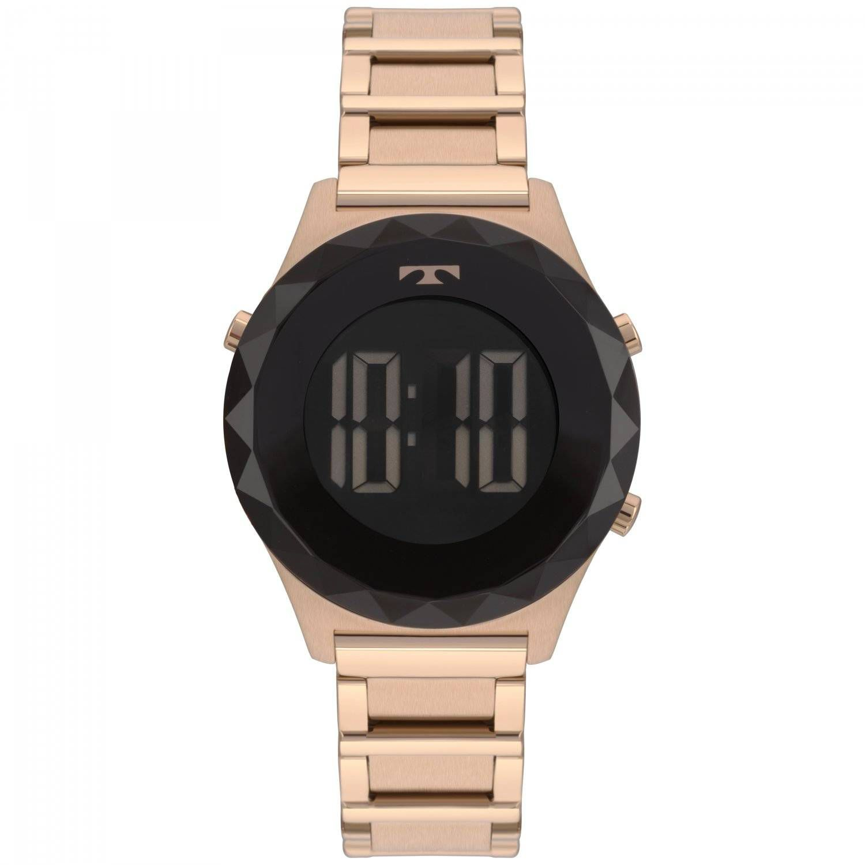 Relógio Technos Elegance Crystal Feminino Digital BJ3851AC/4P