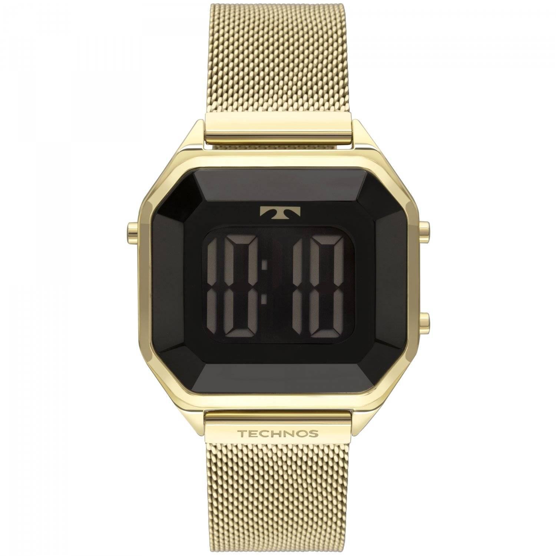 Relógio Technos Elegance Crystal Feminino Digital BJ3851AJ/4P