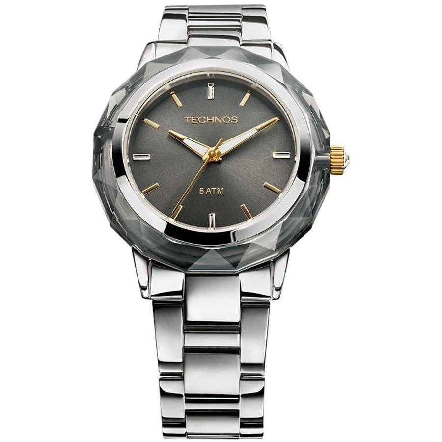 Relógio Technos Elegance Crystal Feminino Quartz 2035MCL/1C