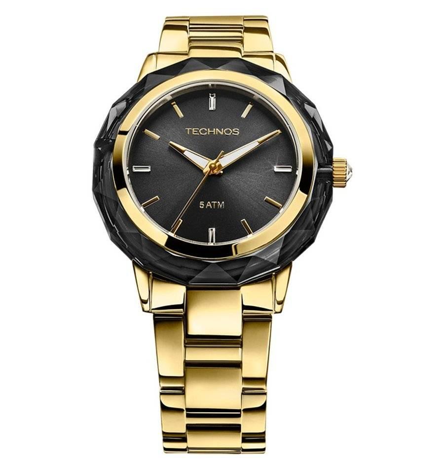 Relógio Technos Elegance Crystal Feminino Quartz 2035MCM/4P