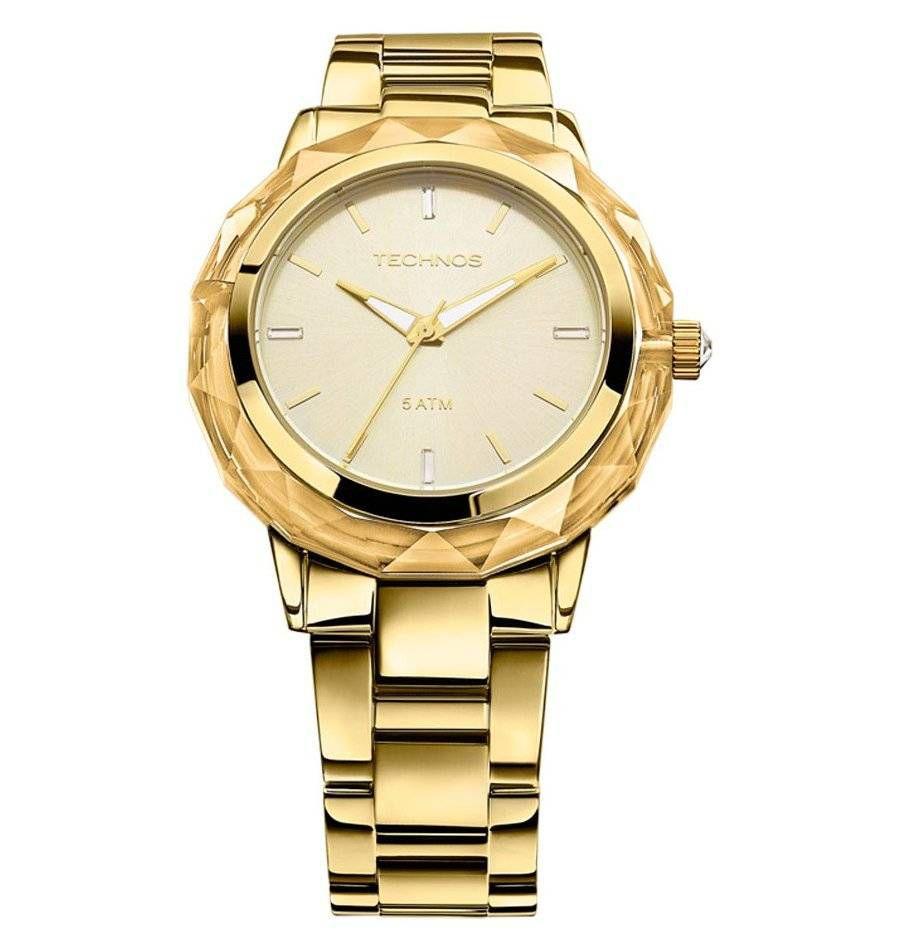 Relógio Technos Elegance Crystal Feminino Quartz 2035MCM/4X