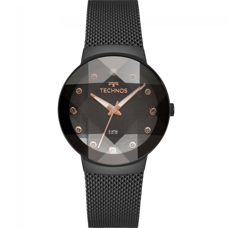 Relógio Technos Elegance Crystal Feminino Quartz 2035MPY/5P
