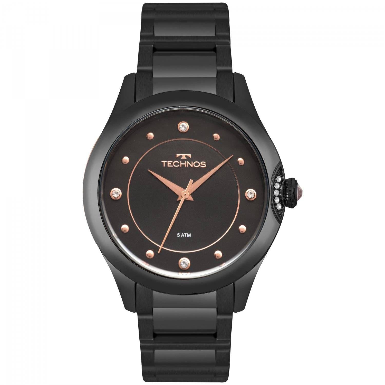 Relógio Technos Elegance Crystal Feminino Quartz 2035MPZ/5P