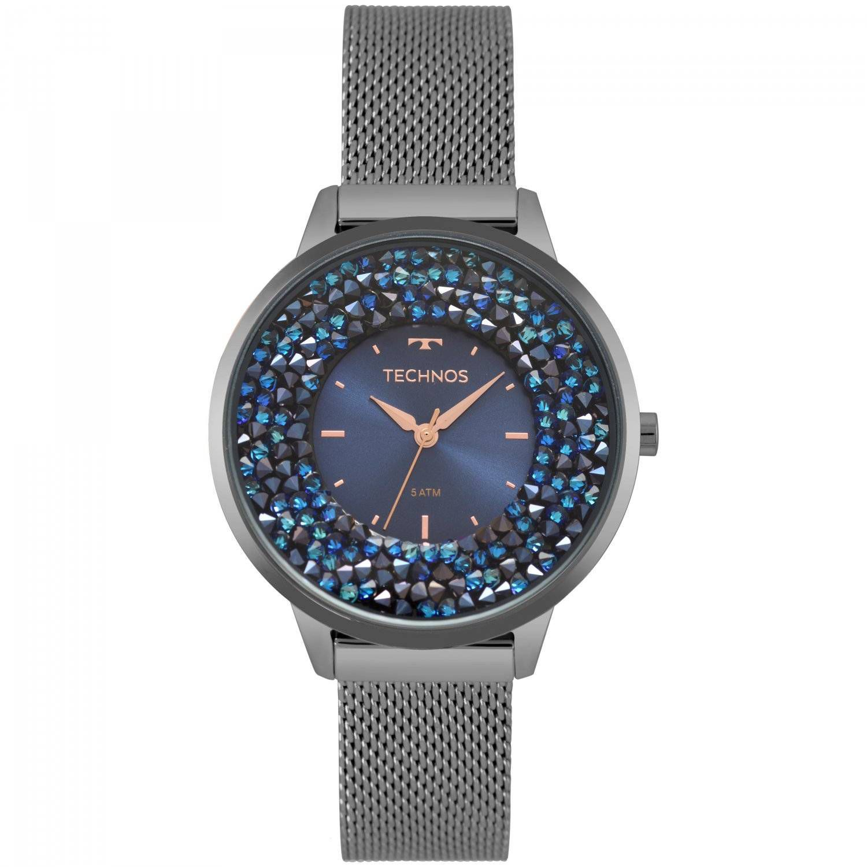 Relógio Technos Elegance Crystal Feminino Quartz 2035MQC/5A