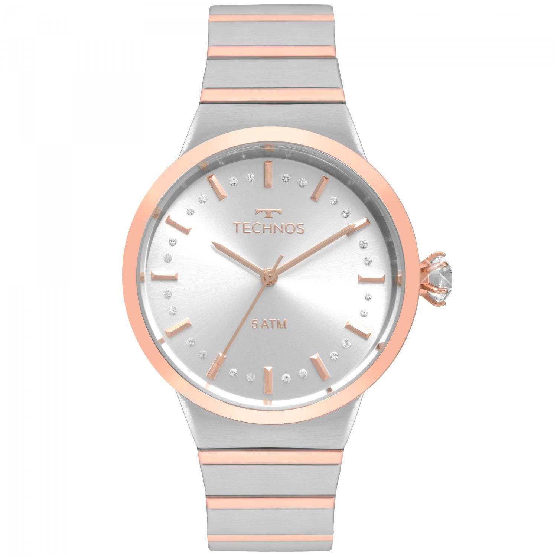 Relógio Technos Elegance Crystal Feminino Quartz 2036MJV/5K