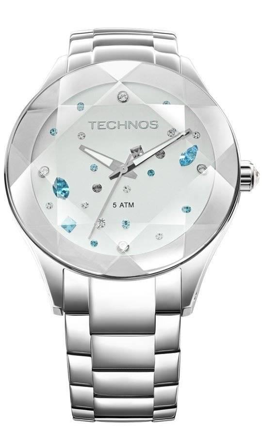 Relógio Technos Elegance Crystal Feminino Quartz 2039AV/1K