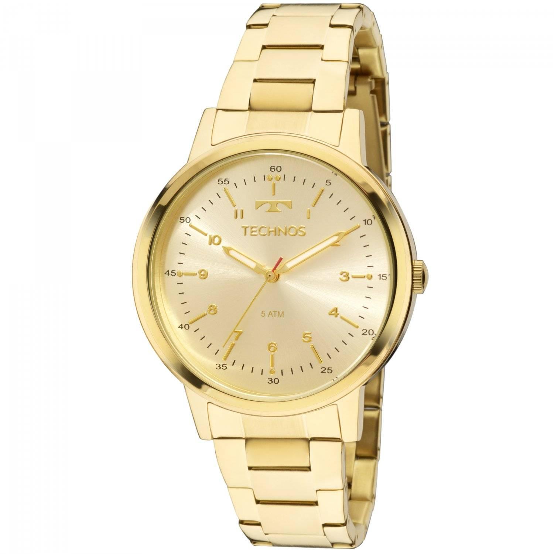 Relógio Technos Elegance Dress Feminino Quartz 2035MFN/4D
