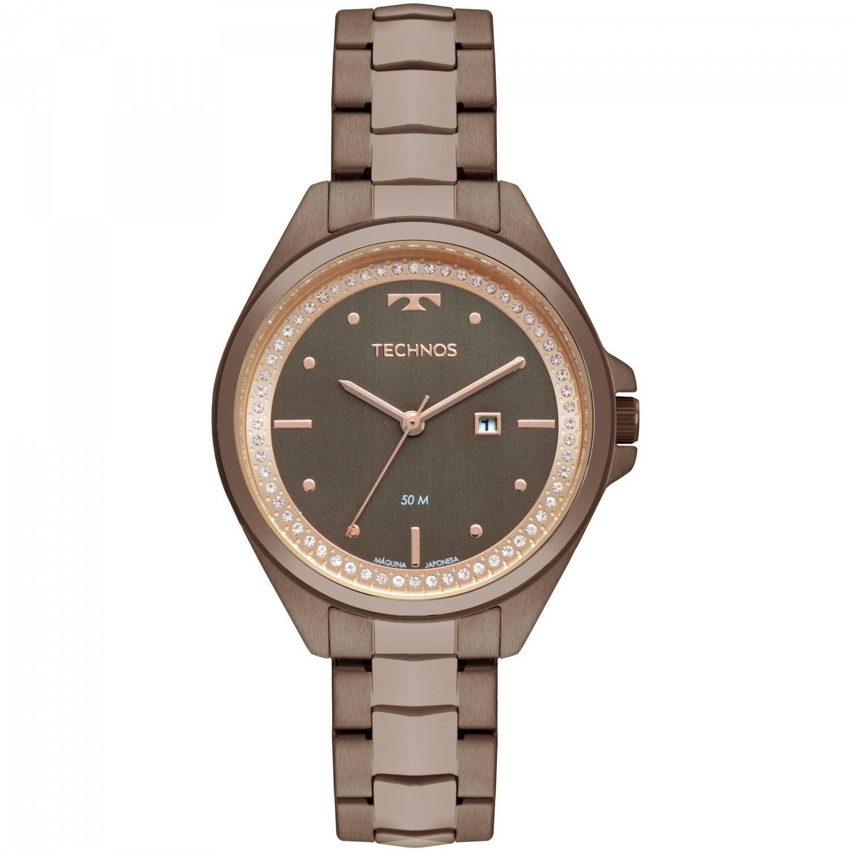 Relógio Technos Elegance Fashion Trend Feminino Quartz 2015CBY/4M