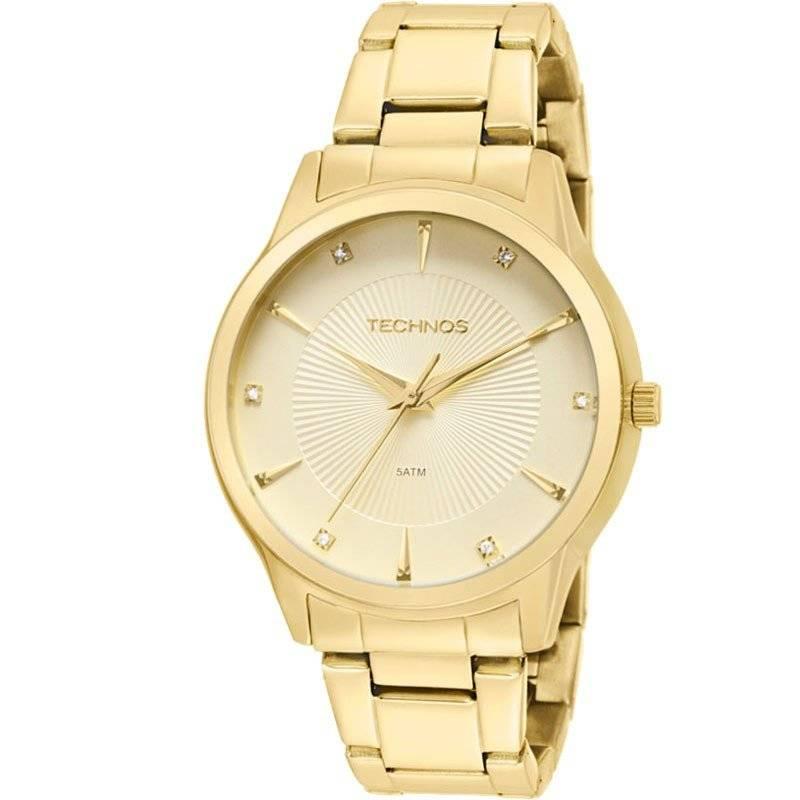 Relógio Technos Elegance Ladies Feminino Quartz 2035LUJ/4X