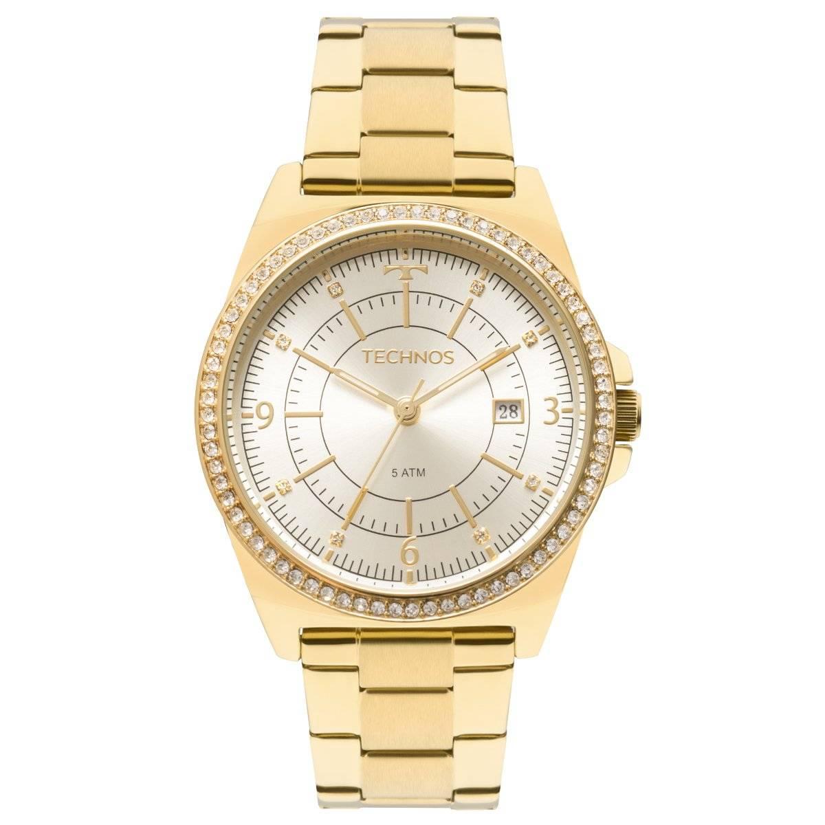 Relógio Technos Elegance Ladies Feminino Quartz 2115MMO/4X