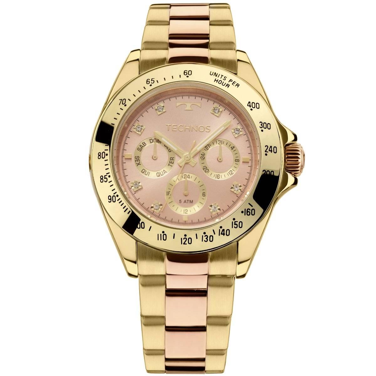 Relógio Technos Elegance Ladies Feminino Quartz 6P29AIU/5T