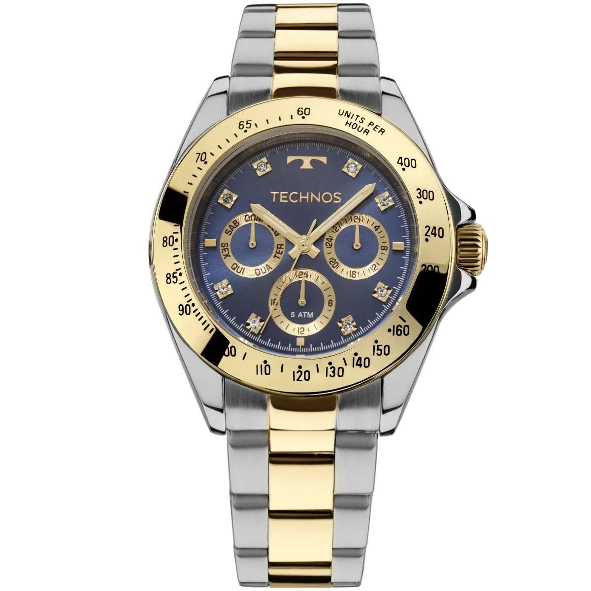 Relógio Technos Elegance Ladies Feminino Quartz 6P29AIV/5A