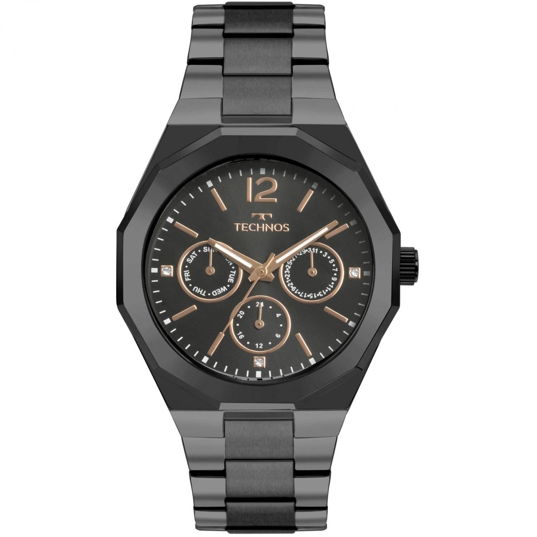 Relógio Technos Elegance Ladies Feminino Quartz 6P29AJE/4P