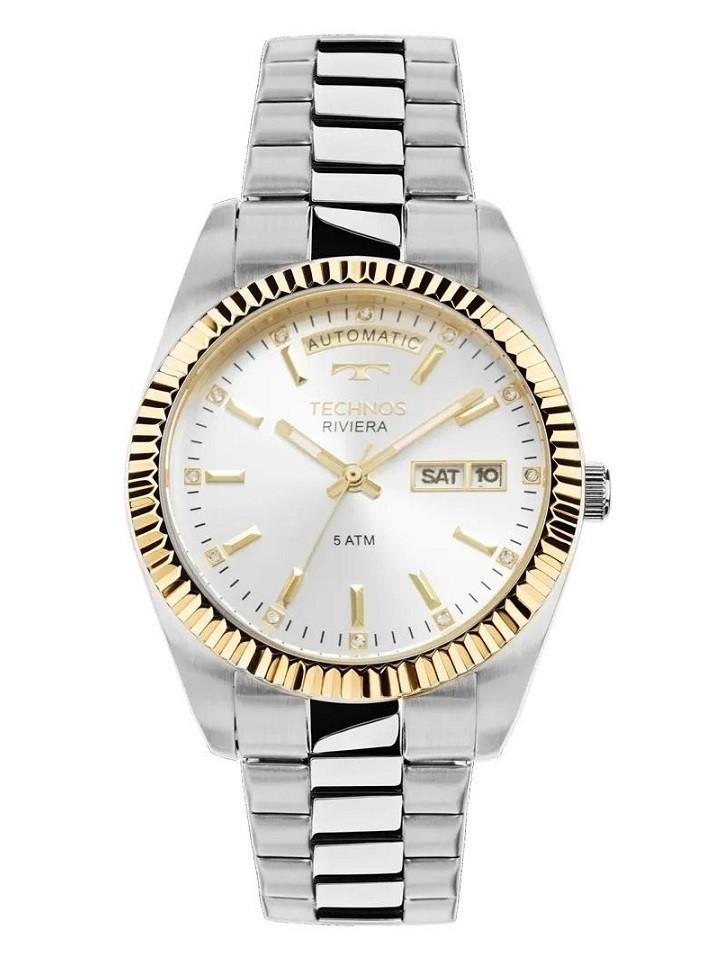 Relógio Technos Elegance Riviera Feminino Automático 8205OB/1K