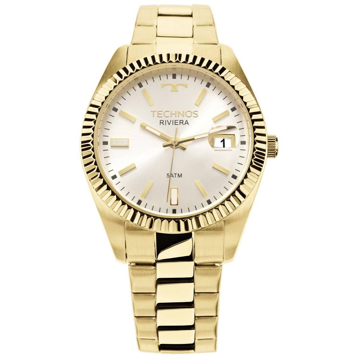Relógio Technos Elegance Riviera Feminino Quartz 2115KTR/4K