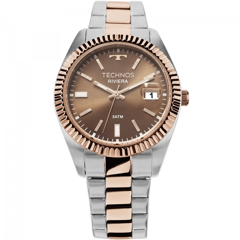 Relógio Technos Elegance Riviera Feminino Quartz 2115KTS/3M