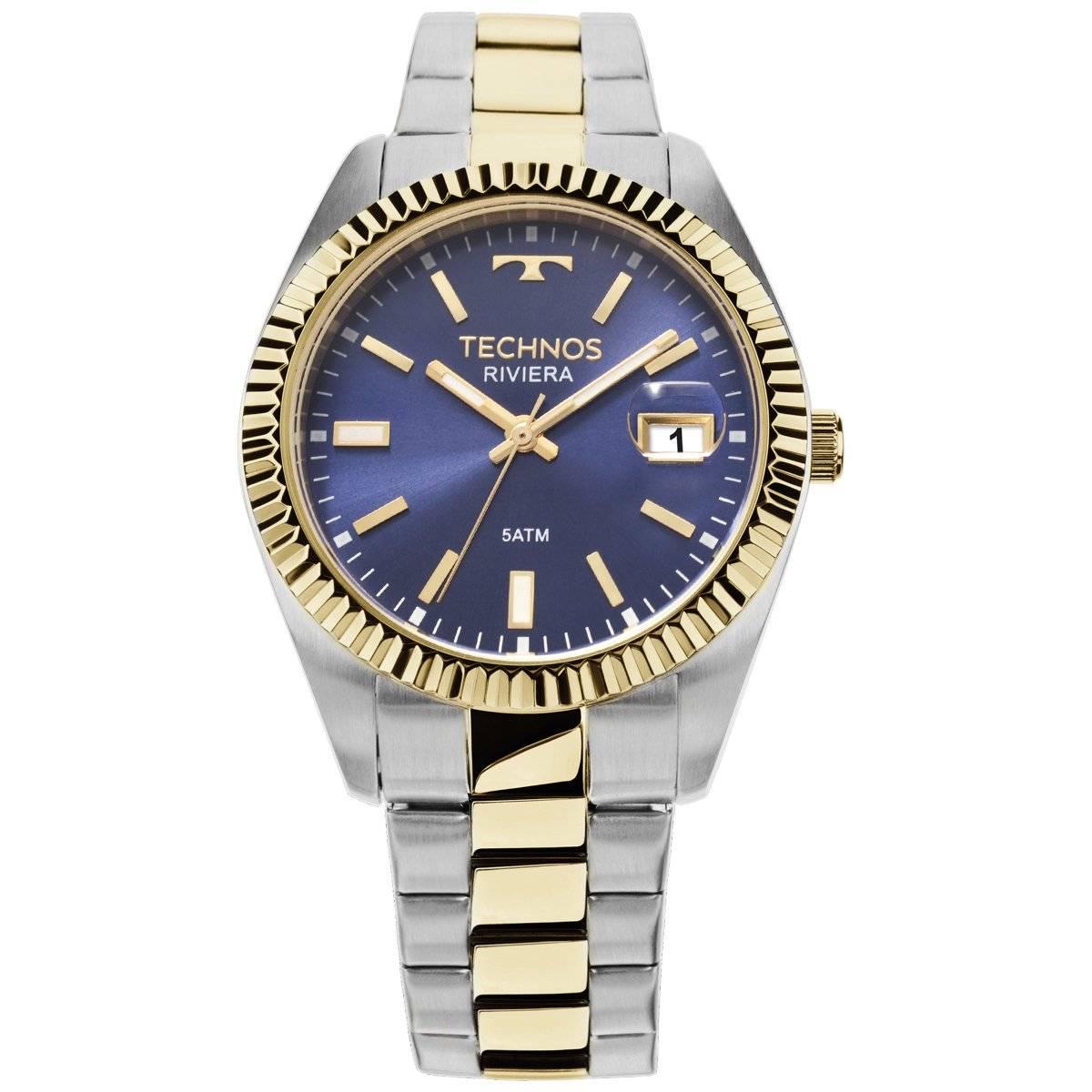 Relógio Technos Elegance Riviera Feminino Quartz 2115KTT/5A