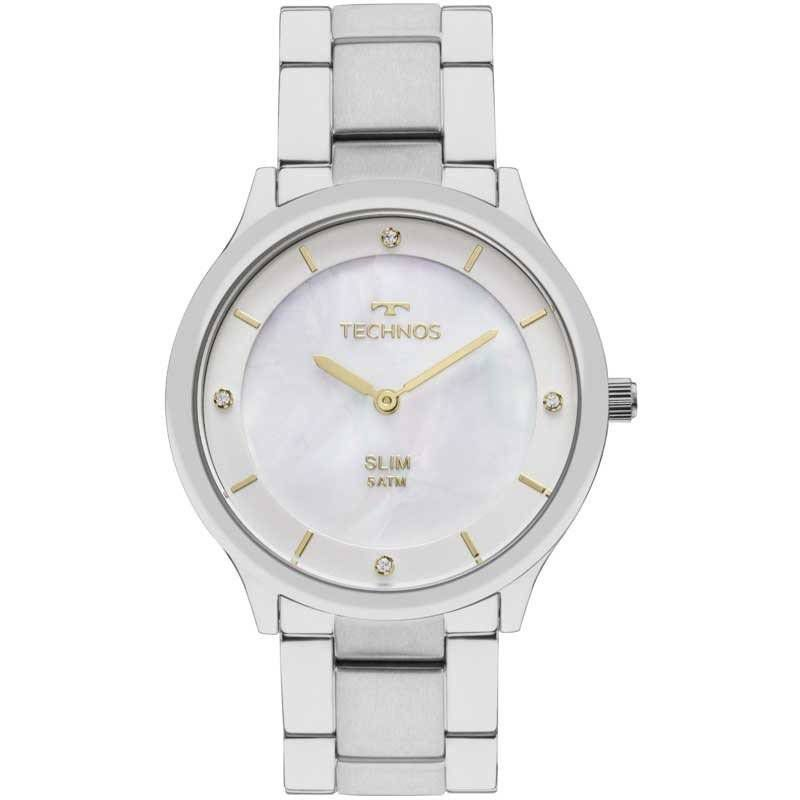 Relógio Technos Elegance Slim Feminino Quartz GL20HG/1B