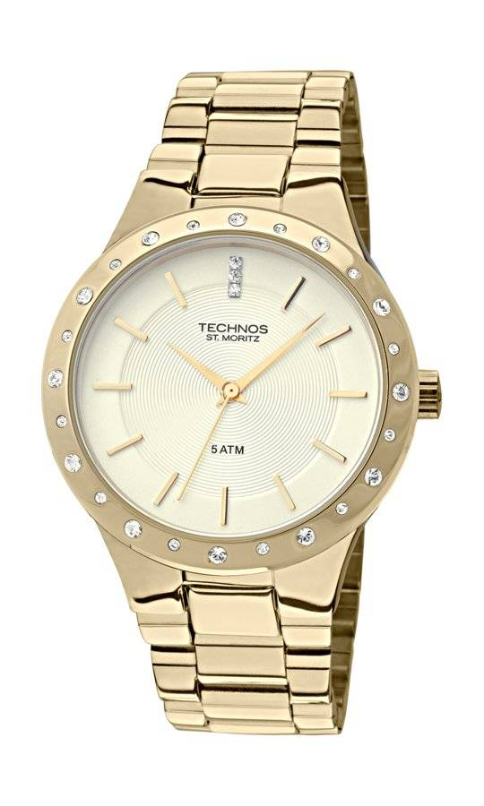 Relógio Technos Elegance ST. MORITZ Feminino Quartz 2035GGA/4X