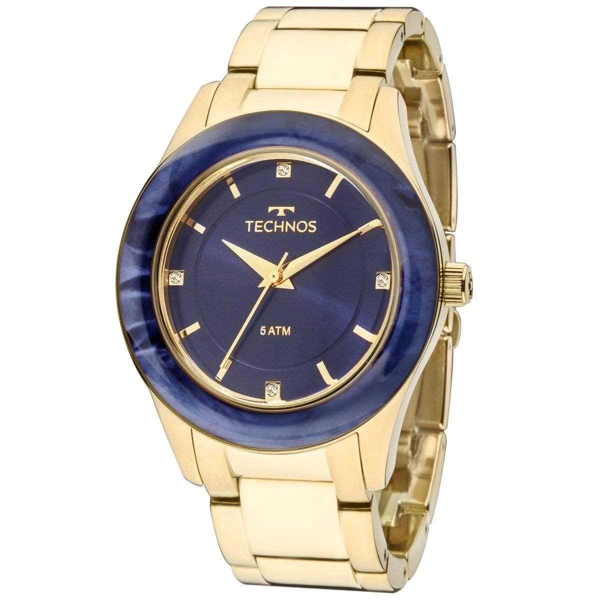 Relógio Technos Elegance ST. MORITZ Feminino Quartz 2036MGK/4A