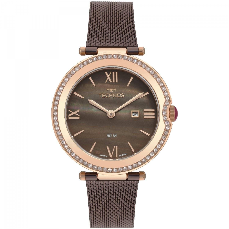 Relógio Technos Elegance ST. MORITZ Feminino Quartz GL15AU/5M