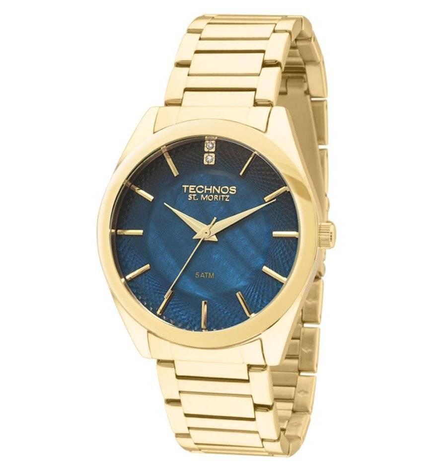 Relógio Technos Elegance ST. MORITZ Quartz 2036LOU/4A