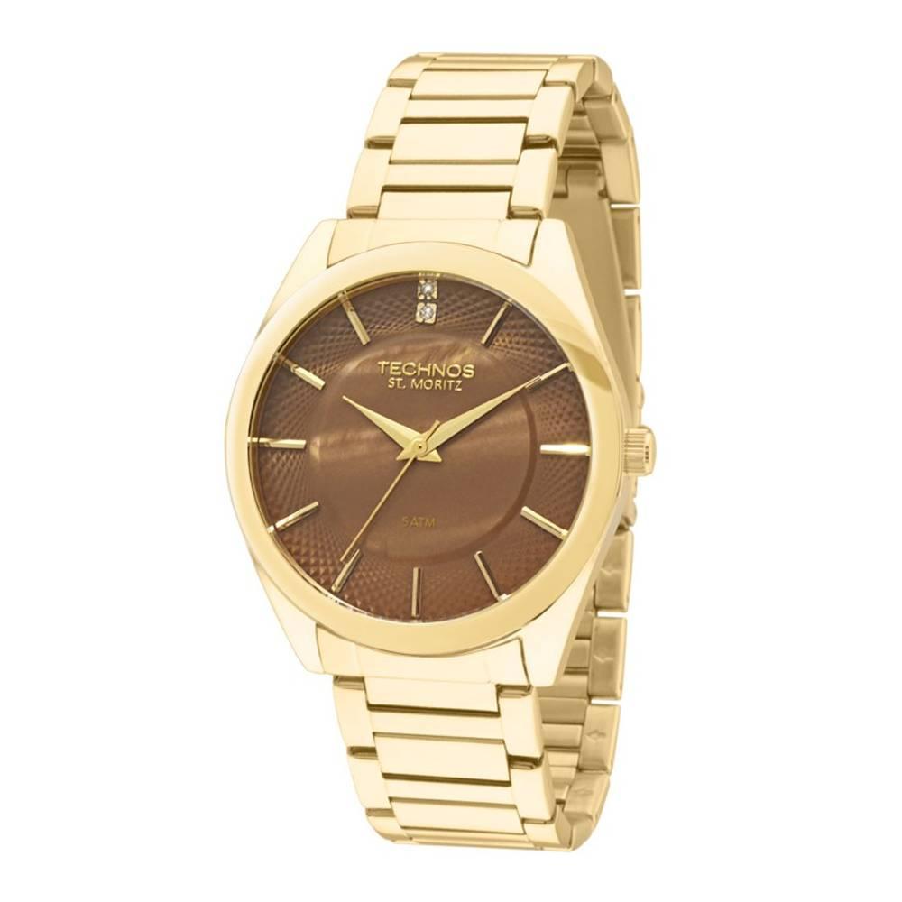 Relógio Technos Elegance ST. MORITZ Quartz 2036LOU/4M